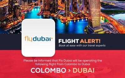 COLOMBO TO DUBAI